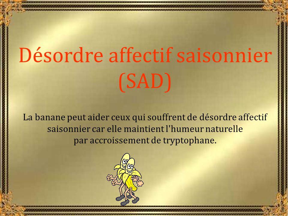 Désordre affectif saisonnier (SAD)