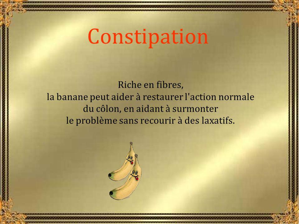 Constipation Riche en fibres,