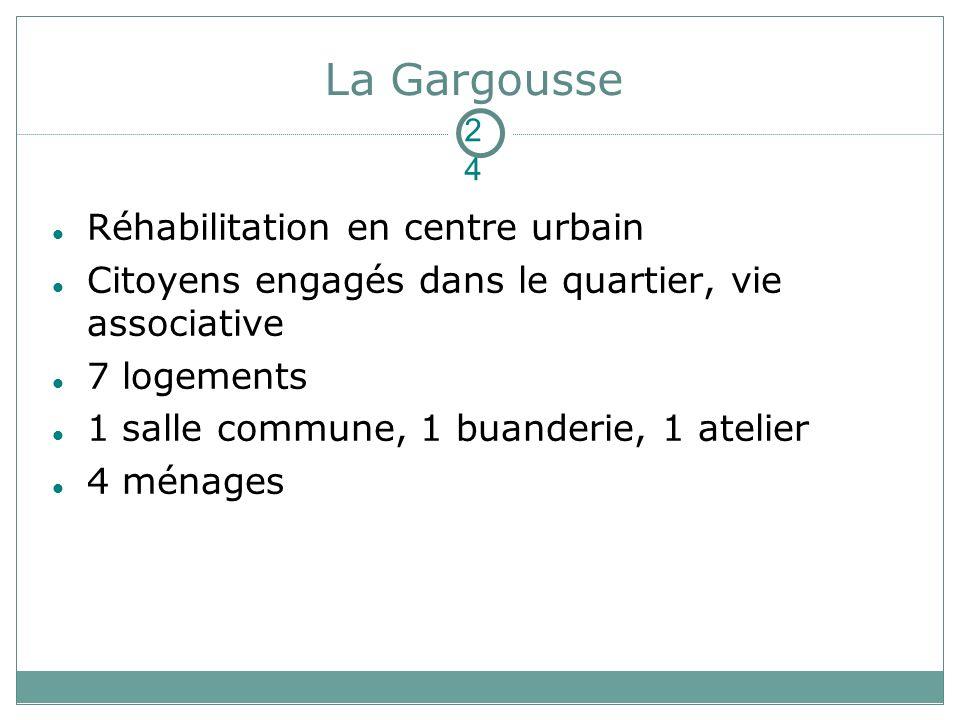 La Gargousse Réhabilitation en centre urbain