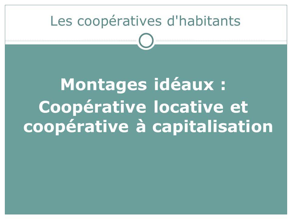 Les coopératives d habitants