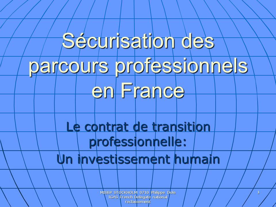Sécurisation des parcours professionnels en France