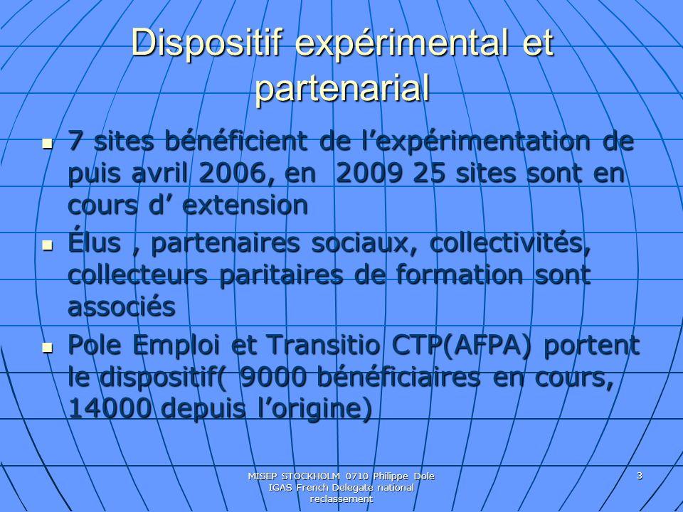 Dispositif expérimental et partenarial