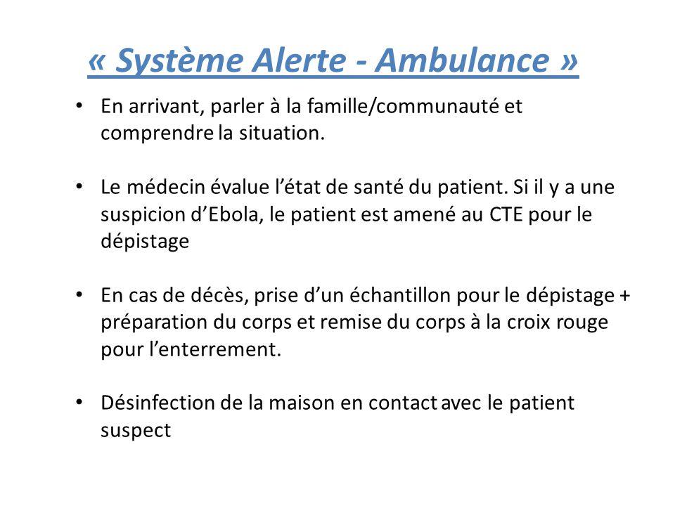 « Système Alerte - Ambulance »