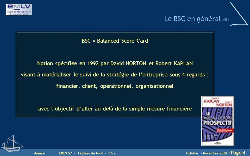 Le BSC en général #01