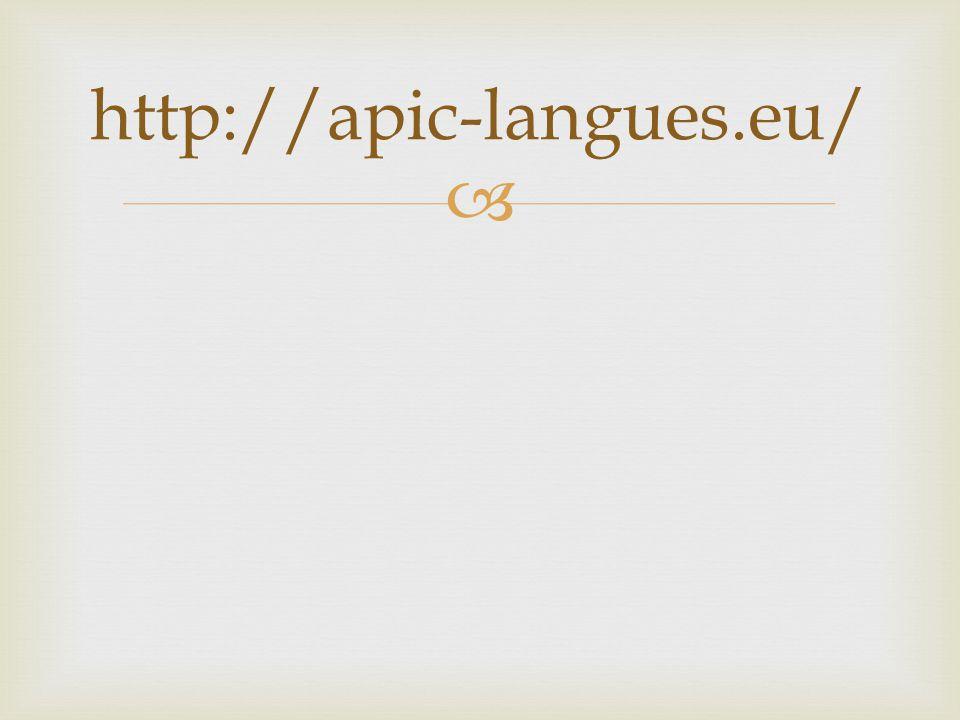 http://apic-langues.eu/