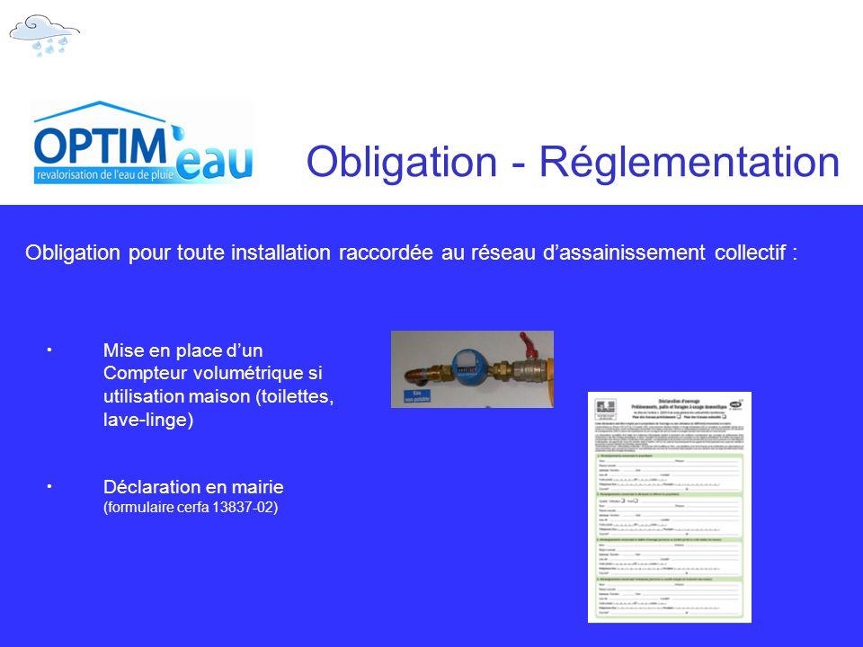 Obligation - Réglementation