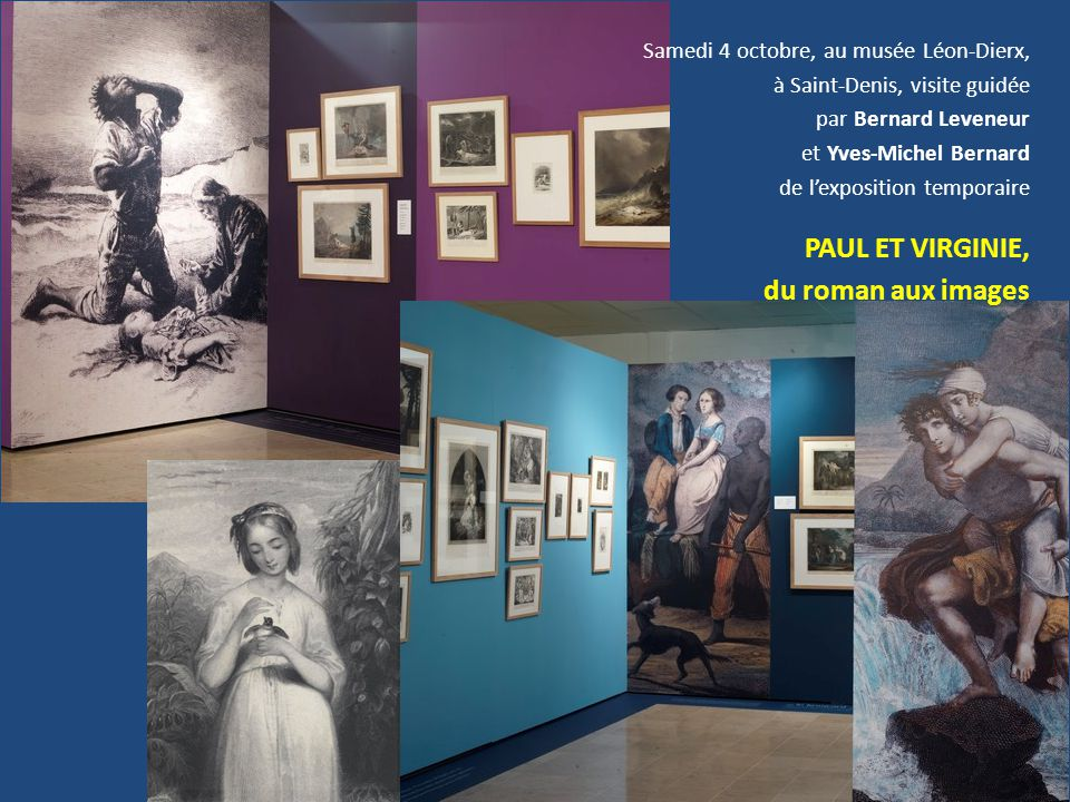 du roman aux images Samedi 4 octobre, au musée Léon-Dierx,