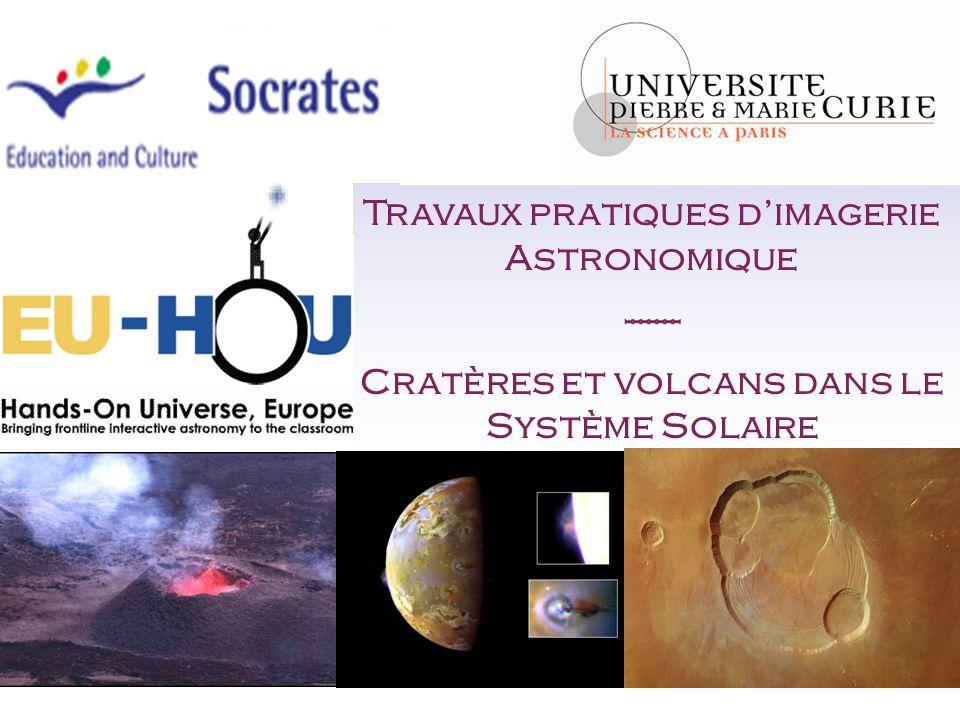 Travaux pratiques d'imagerie Astronomique -------