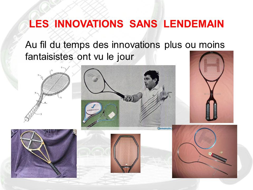 LES INNOVATIONS SANS LENDEMAIN