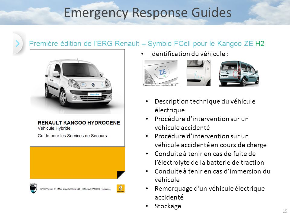 Emergency Response Guides