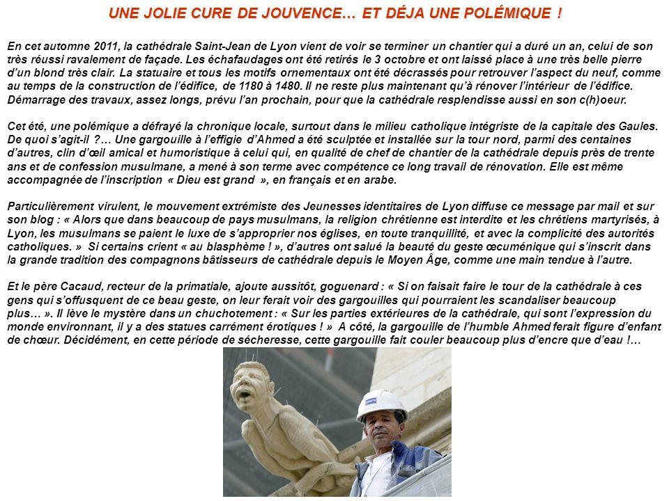 UNE JOLIE CURE DE JOUVENCE… ET DÉJA UNE POLÉMIQUE !