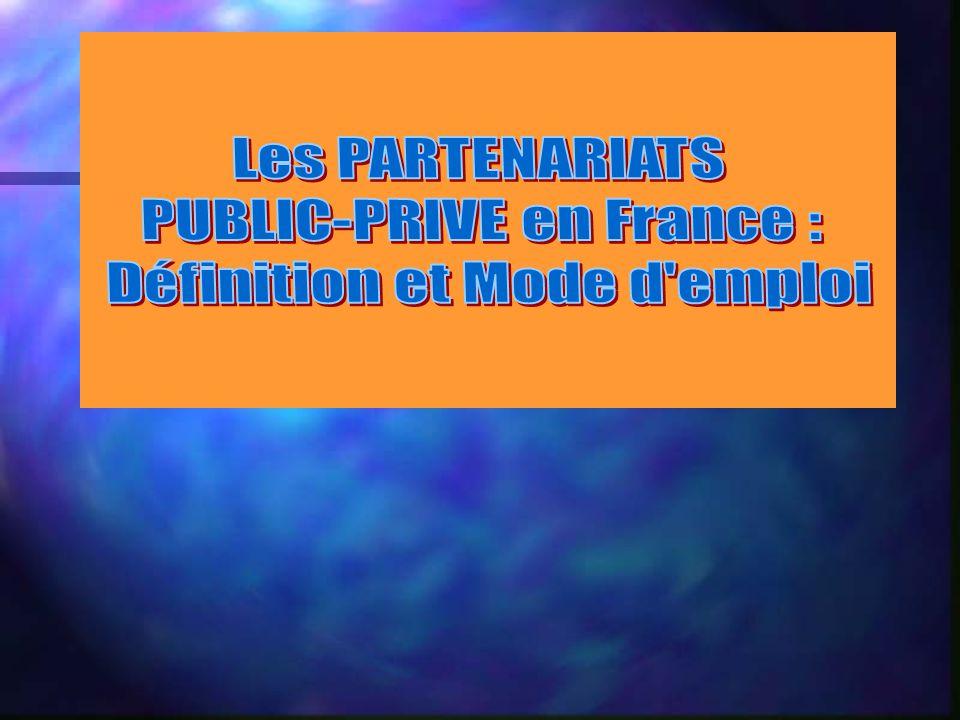 PUBLIC-PRIVE en France : Définition et Mode d emploi