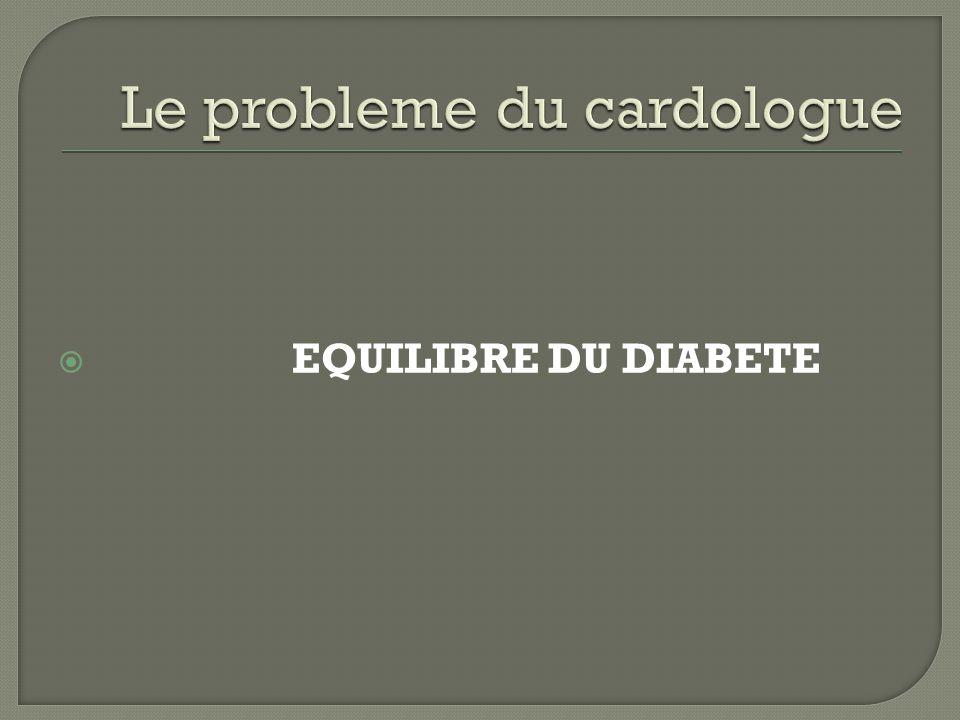 Le probleme du cardologue