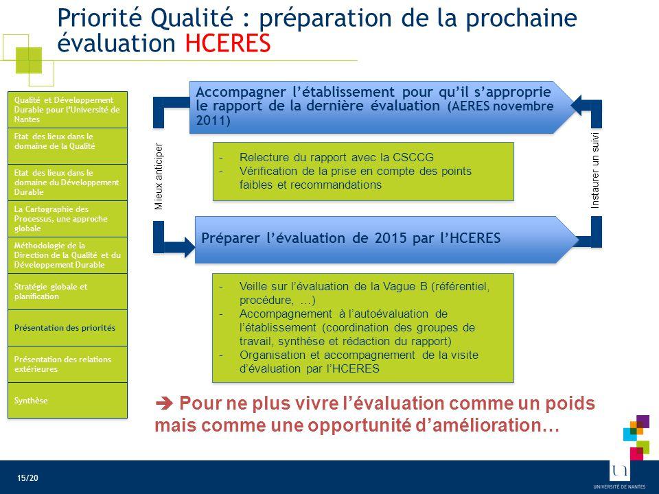 Priorité Qualité : simplification des procédures administratives