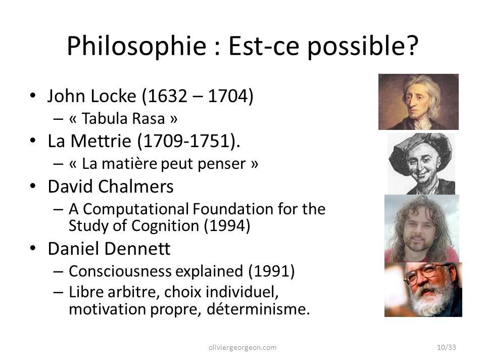 Philosophie : Est-ce possible