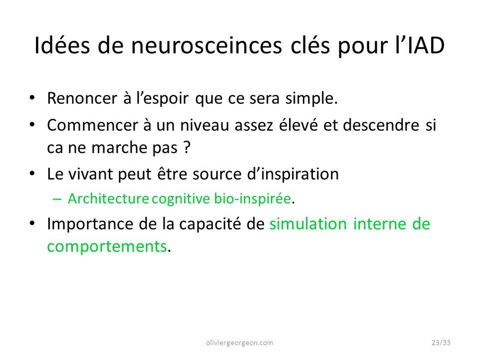 Idées de neurosceinces clés pour l'IAD