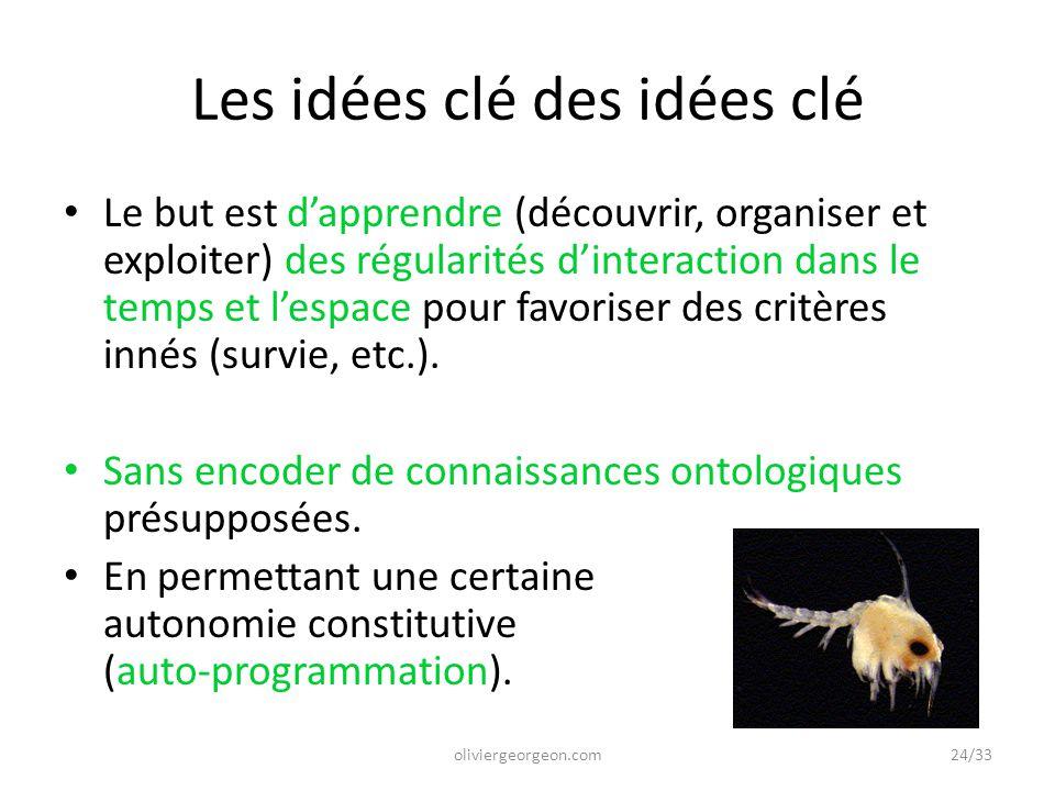 Les idées clé des idées clé