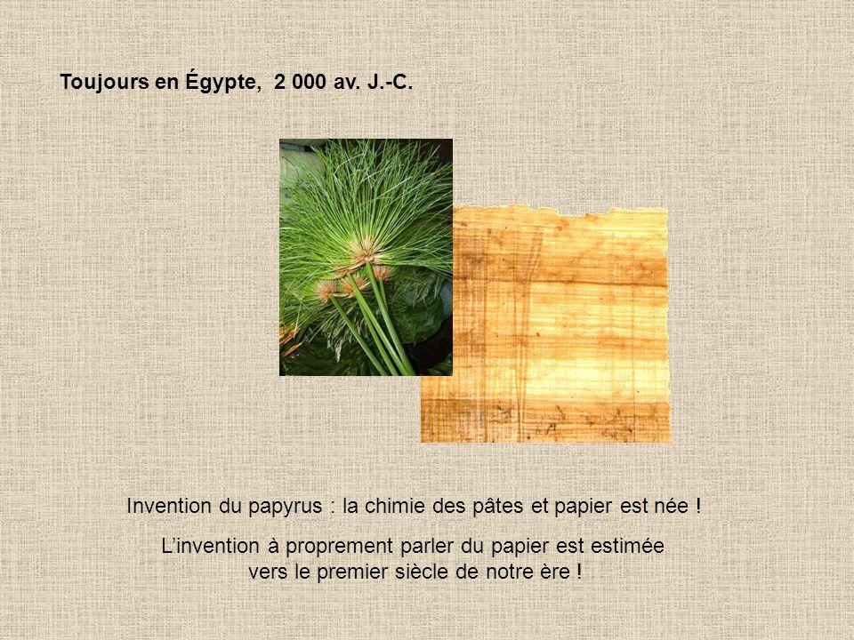 Toujours en Égypte, 2 000 av. J.-C.