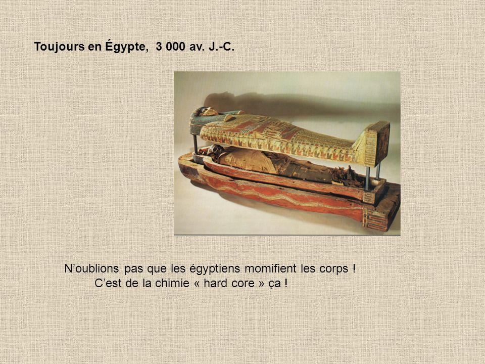 Toujours en Égypte, 3 000 av. J.-C.