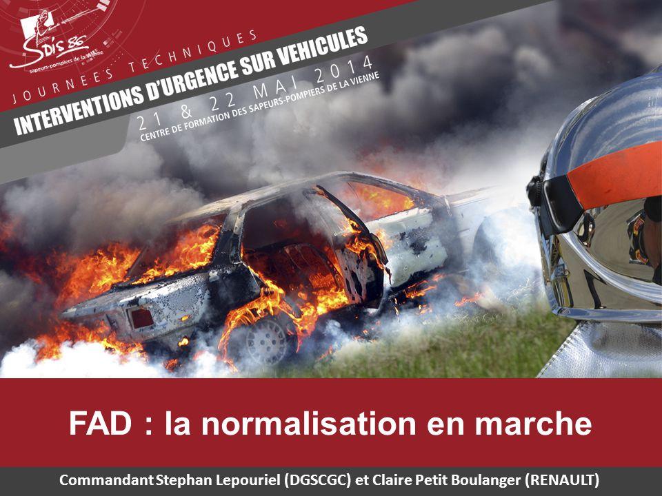 FAD : la normalisation en marche