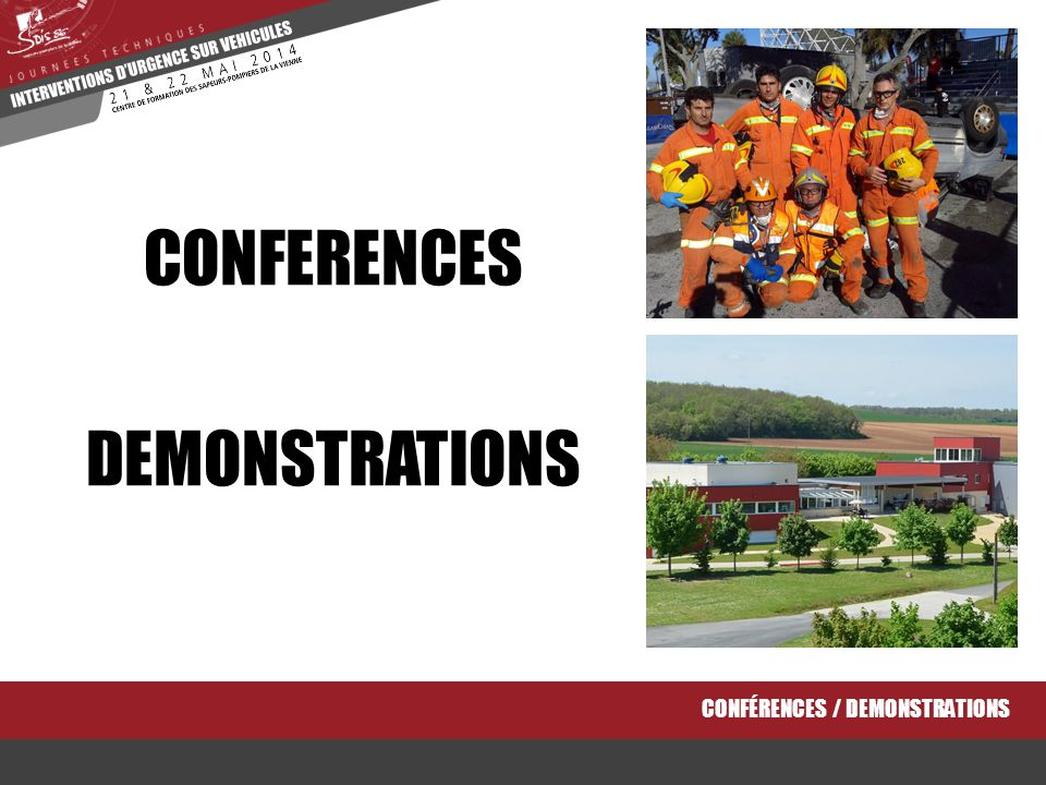 CONFERENCES DEMONSTRATIONS