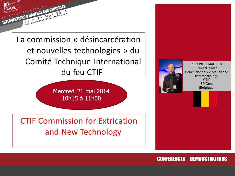 CTIF Commission for Extrication and New Technology