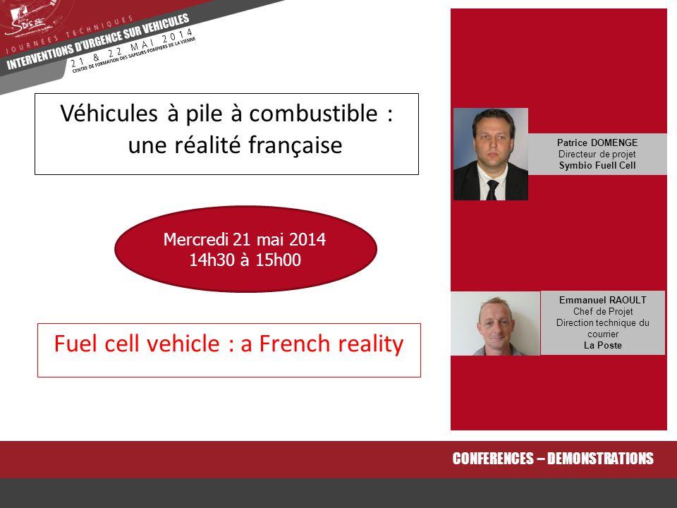 Véhicules à pile à combustible : une réalité française