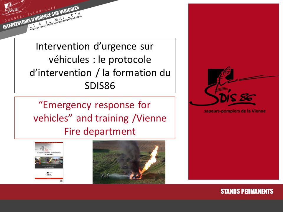 Emergency response for vehicles and training /Vienne Fire department