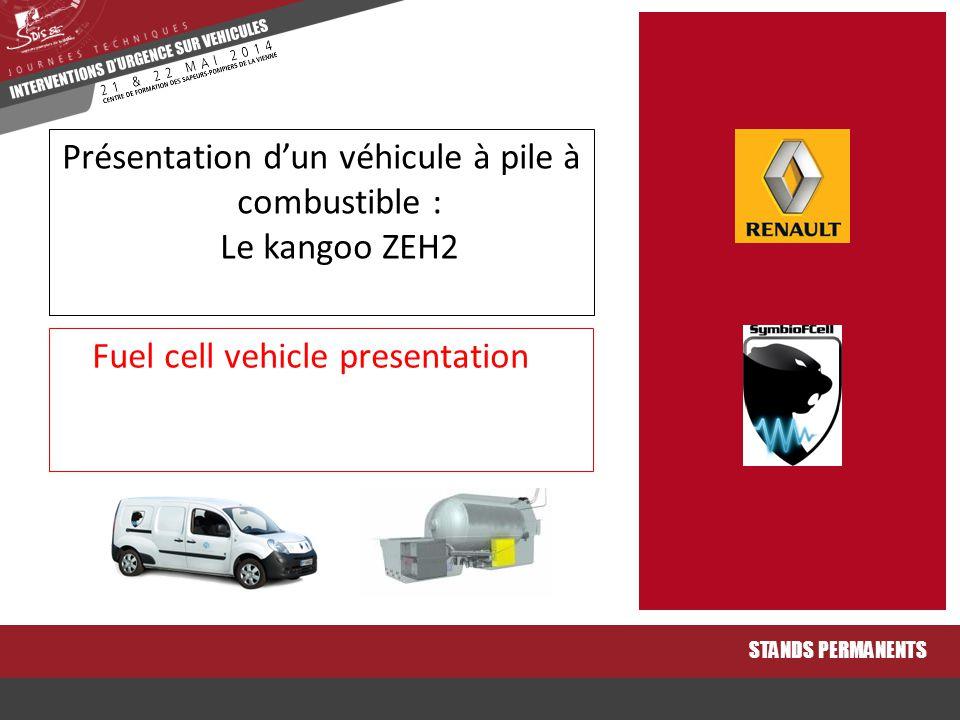 Présentation d'un véhicule à pile à combustible : Le kangoo ZEH2