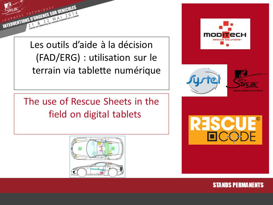 The use of Rescue Sheets in the field on digital tablets