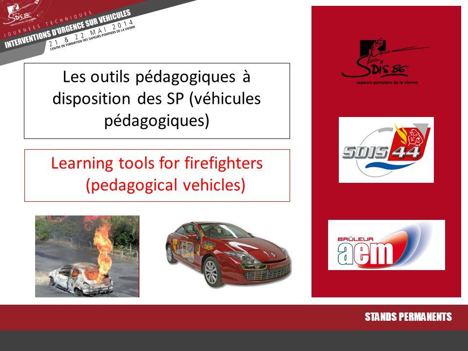 Les outils pédagogiques à disposition des SP (véhicules pédagogiques)