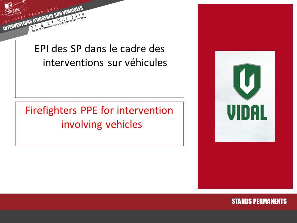EPI des SP dans le cadre des interventions sur véhicules