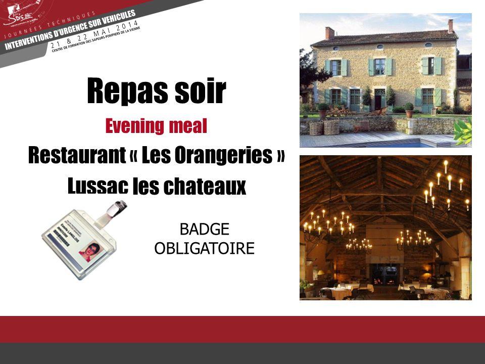 Restaurant « Les Orangeries »
