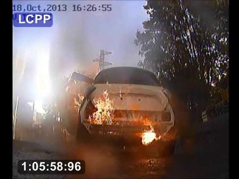 Impact des feux de VE : le retour d'expérience des différents essais réalisés