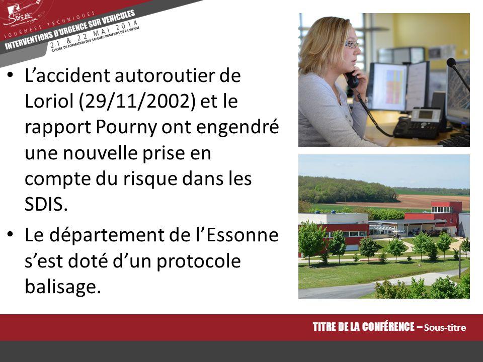 Le département de l'Essonne s'est doté d'un protocole balisage.