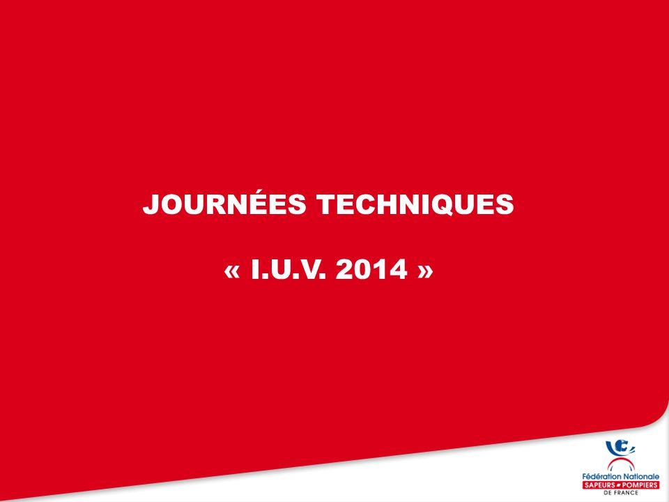 journées techniques « i.u.v. 2014 »