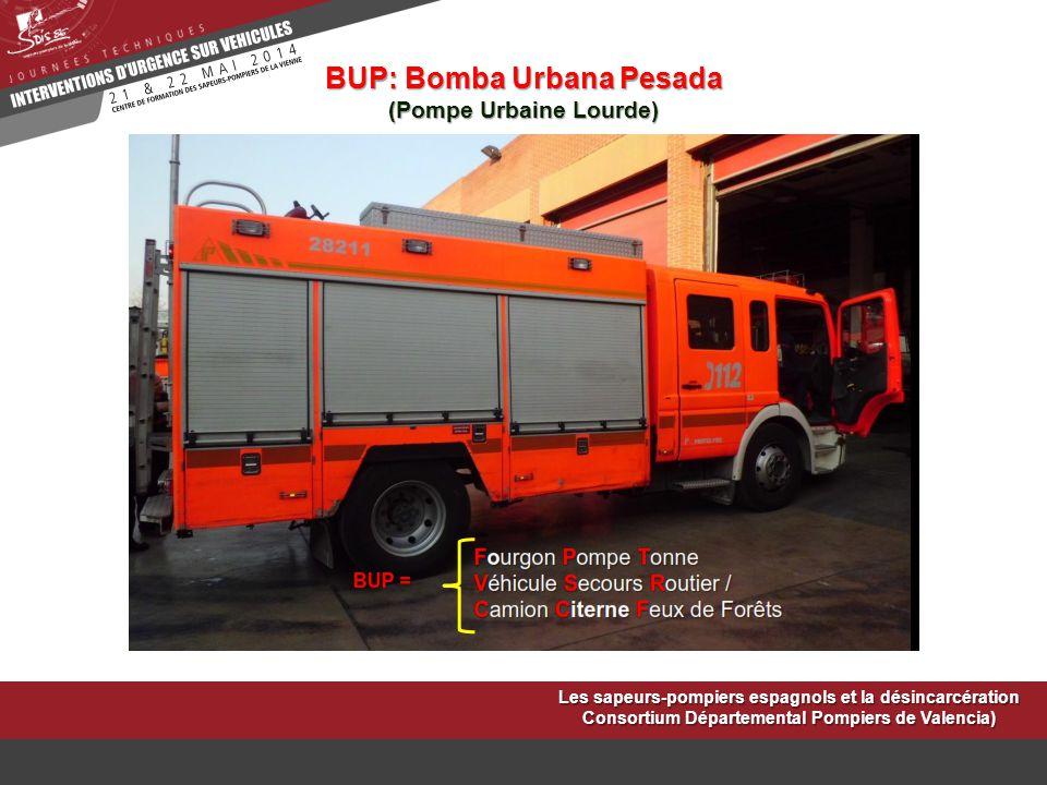 BUP: Bomba Urbana Pesada