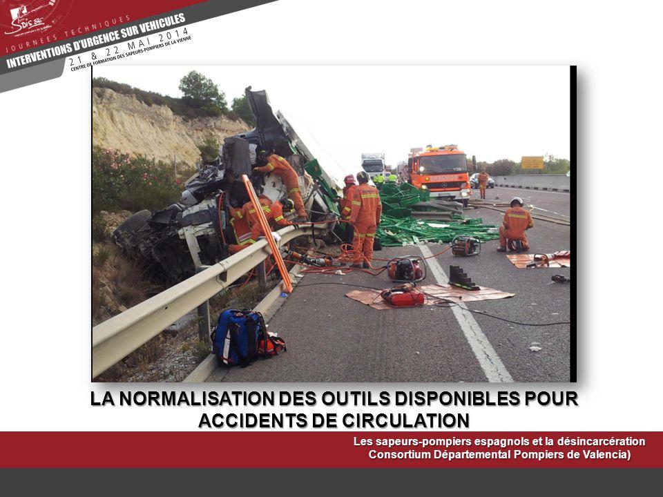 LA NORMALISATION DES OUTILS DISPONIBLES POUR ACCIDENTS DE CIRCULATION