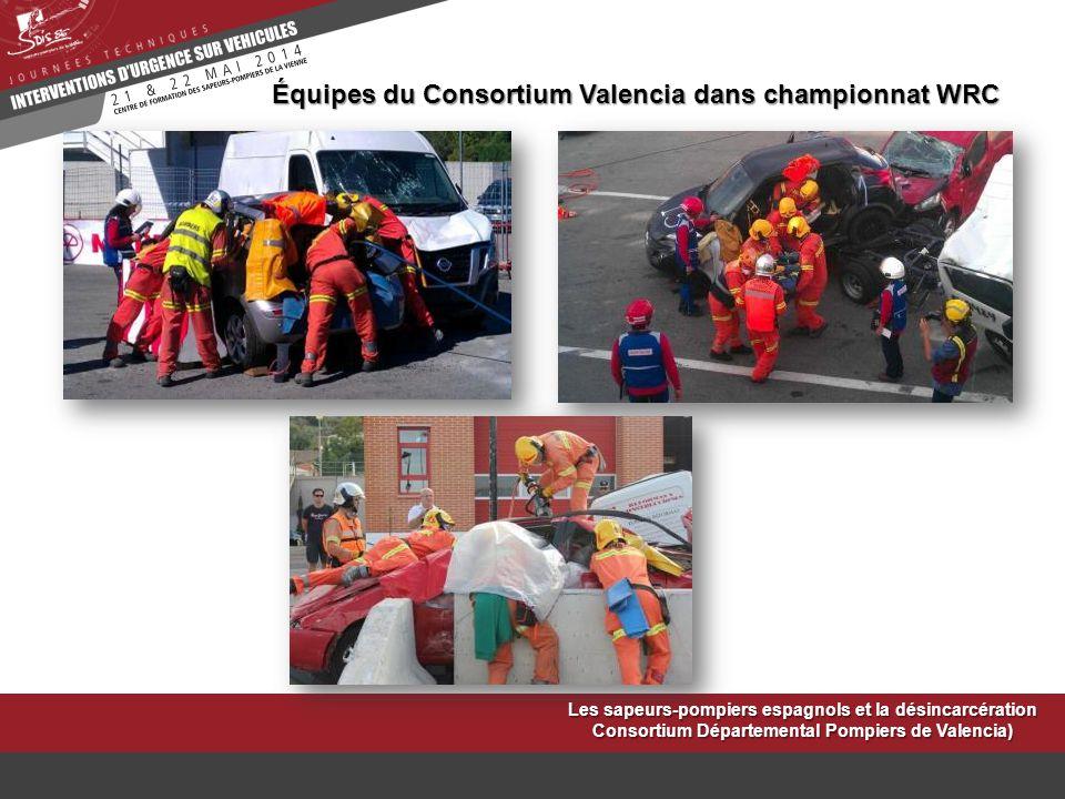 Équipes du Consortium Valencia dans championnat WRC