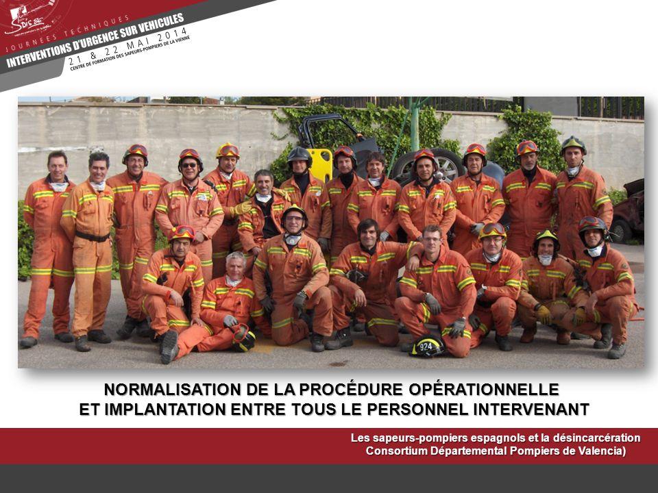 NORMALISATION DE LA PROCÉDURE OPÉRATIONNELLE