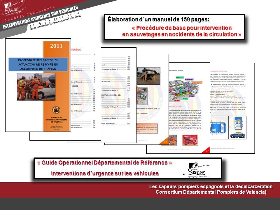 Élaboration d´un manuel de 159 pages: