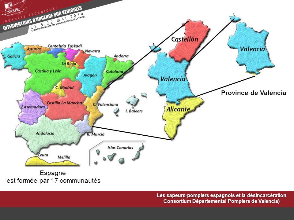 est formée par 17 communautés