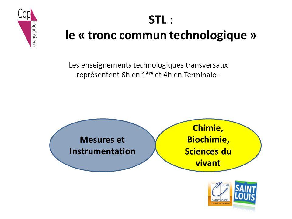 STL : le « tronc commun technologique »
