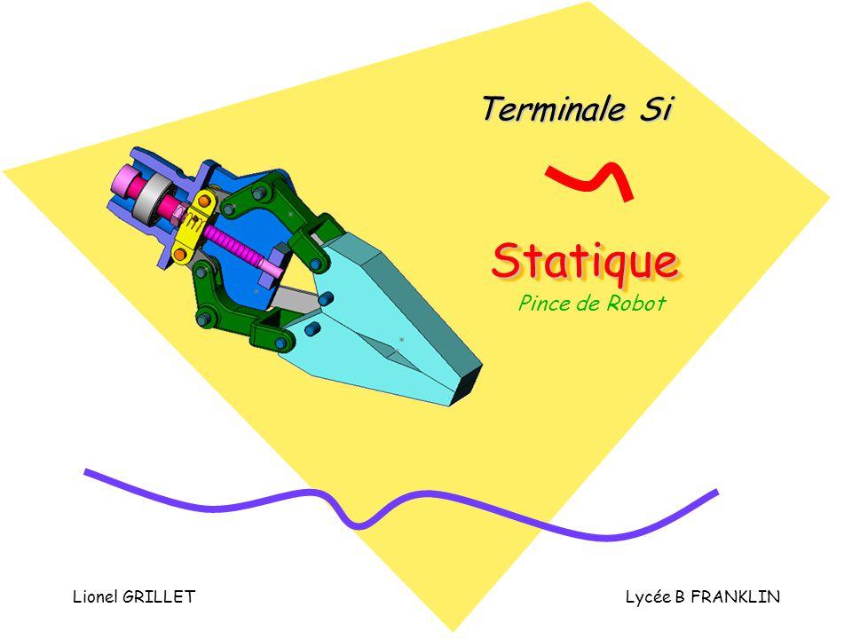 Terminale Si Statique Pince de Robot Lionel GRILLET