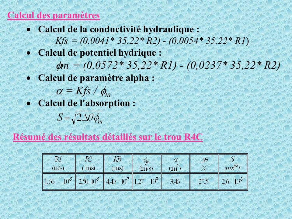 m = (0,0572* 35,22* R1) - (0,0237* 35,22* R2)  = Kfs / m