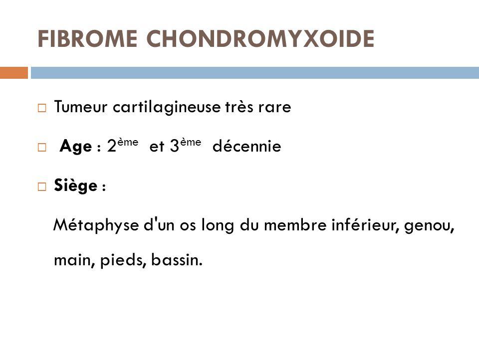 FIBROME CHONDROMYXOIDE