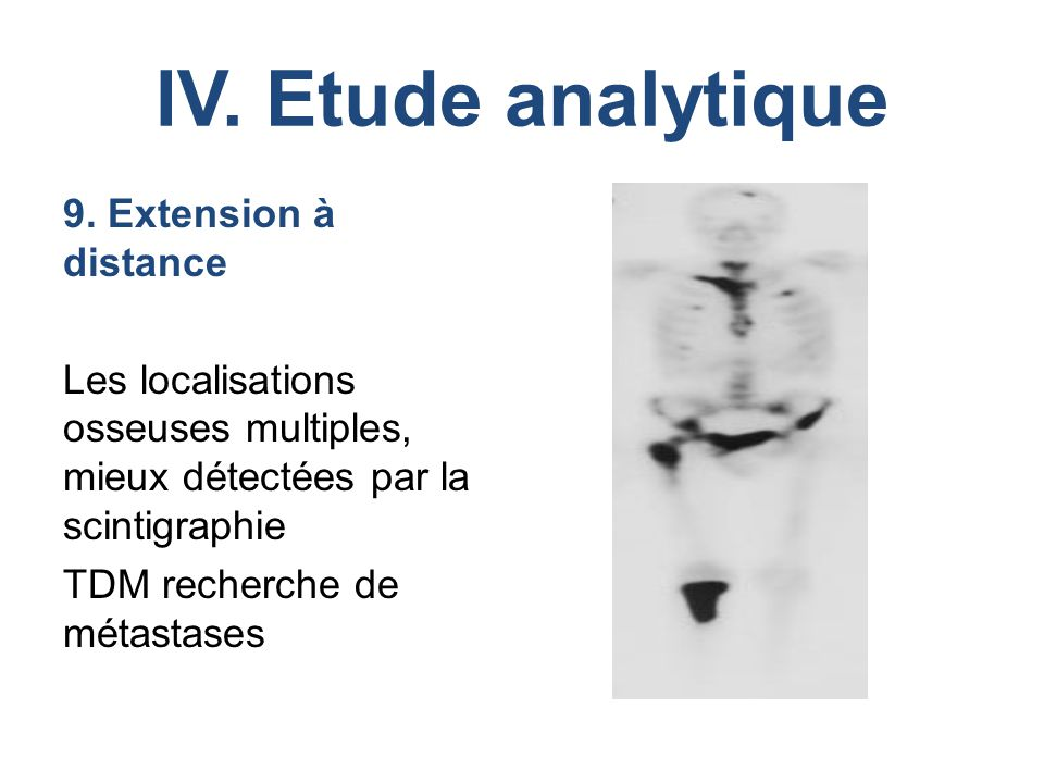 IV. Etude analytique 9.