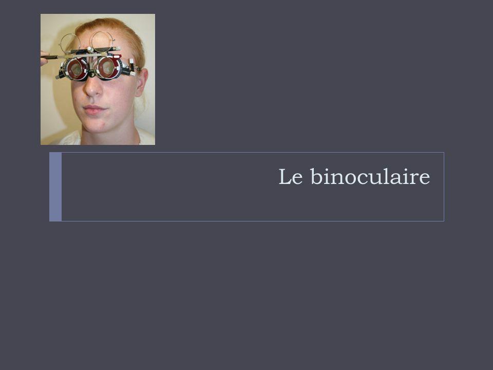Le binoculaire