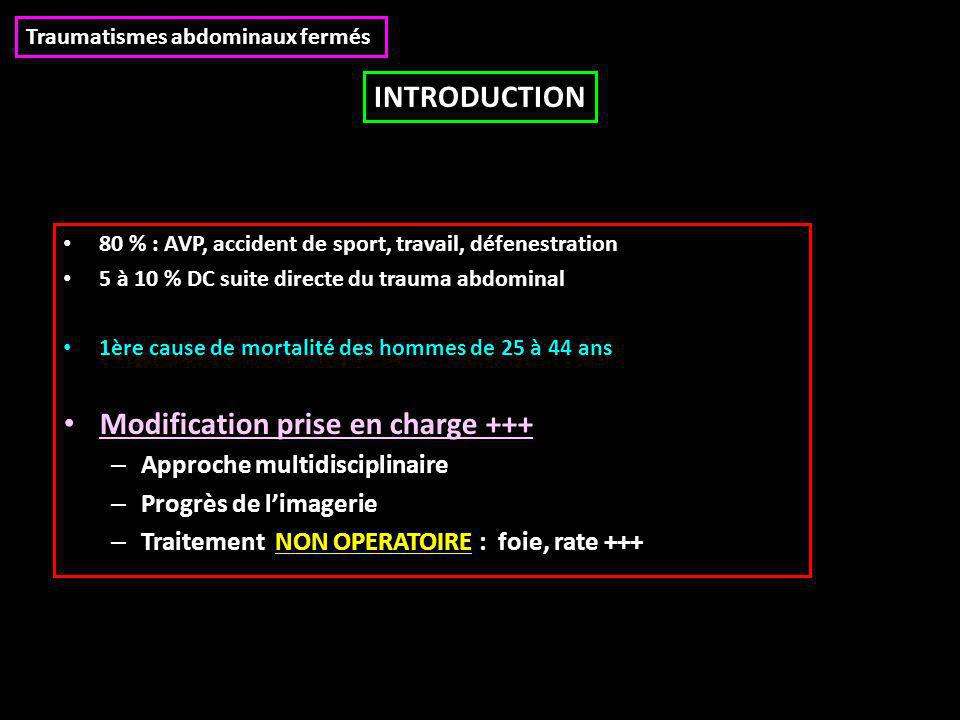 Modification prise en charge +++