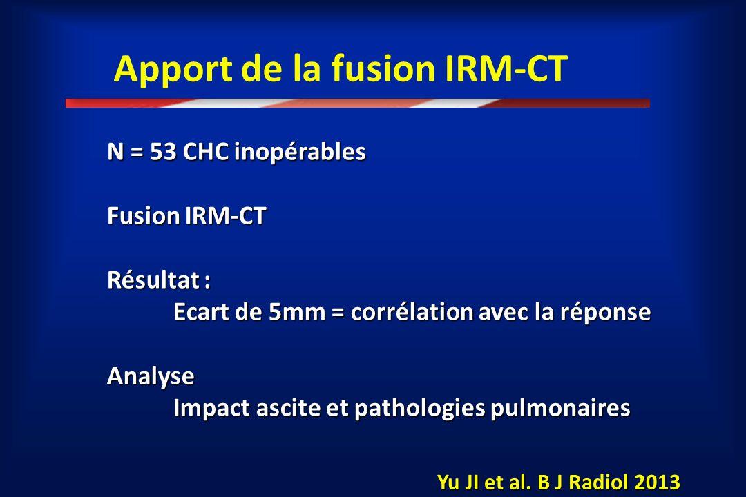 Apport de la fusion IRM-CT